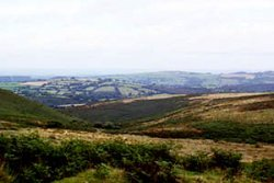 Views of Dartmoor's moorland