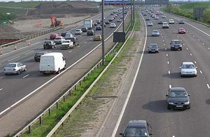 M25 near Heathrow