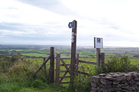 "An inviting footpath in Somerset"" hspace="