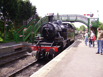 "Alresford Station on the Watercress Line"" hspace="