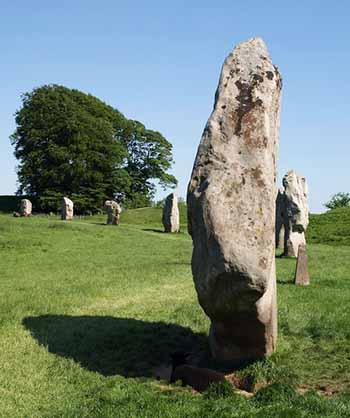 Stones at Avebury