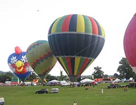 "Balloon fiesta, Ashton Court Estate"" hspace="