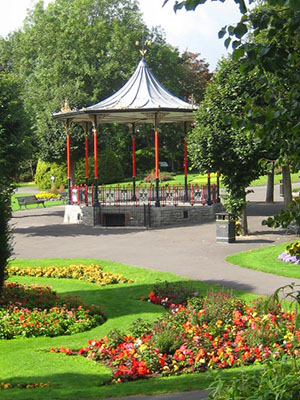 Bandstand Dorchester Borough Council Gardens