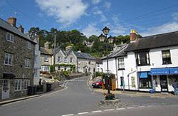 The village of Beer in Devon