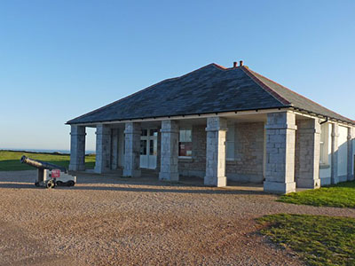 "The Visitor Centre at Berry Head"" hspace="