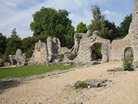 """Bishop's Palace, Winchester"""" hspace="""