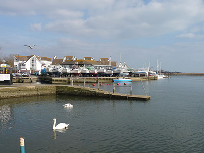 "Christchurch Harbour"" hspace="