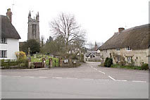 Church and Square Cattistock