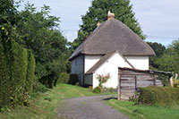 "Cottage at the end of the lane"" hspace="