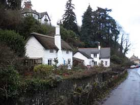"Cottages at Porlock"" hspace="