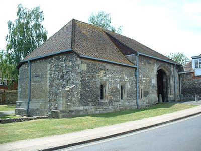Hyde Abbey Gatehouse Winchester