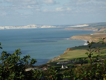 The stunning coastline of the Isle of Wight