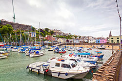 "Ilfracombe Harbour"" hspace="