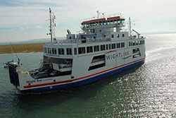 Lymington to Yarmouth car ferry