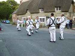 "Morris Men at Berwic St John"" hspace="