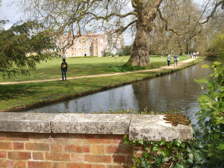 "By the River Test at Mottisfont Abbey"" hspace="