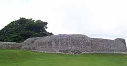 Old Sarum Castle wall