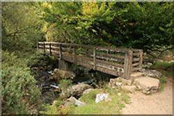 """River Taw Footbridge, Belstone"""" hspace="""