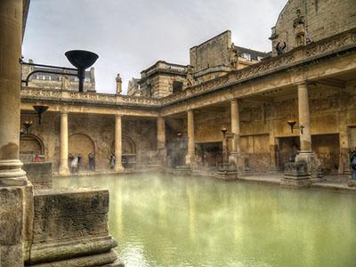 "Roman Baths, Bath"" hspace="