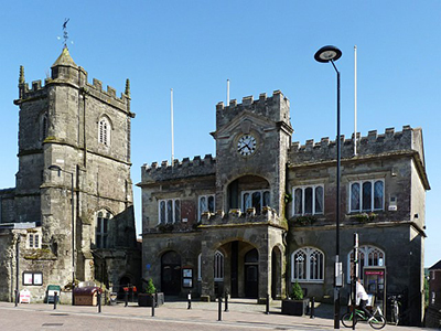 """Shaftesbury Town Hall"""" hspace="""