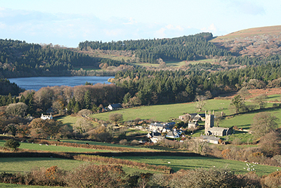 "Sheepstor, Burrator Reservoir "" hspace="
