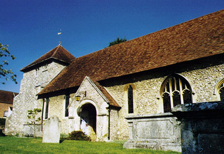 St Bartholomew's Church, King Alfred Place, Winchester