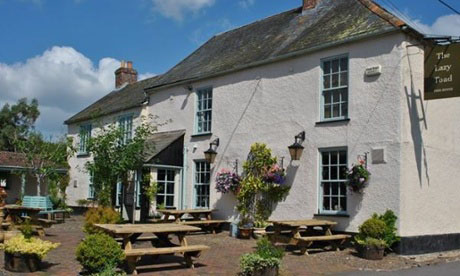 The Lazy Toad, Bramford Speke, Devon