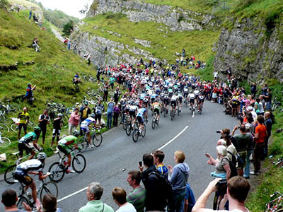"Tour of Britain, Cheddar Gorge"" hspace="