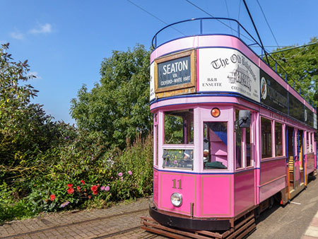 "Tram at Colyton"" hspace="