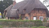 """Tudor Cottage, Longparish"""" hspace="""