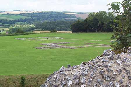 View from Old Sarum
