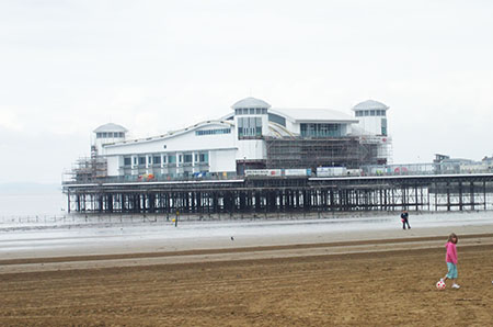 "The pier at Weston Super Mare"" hspace="