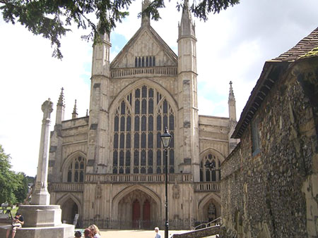 Winchester cathedral priory