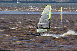"Windsurfing Exmouth"" hspace="