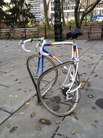 ruined bike