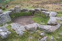 """Ancient habitat, Dartmoor"""" hspace="""
