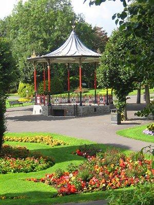 Bandstand Dorchester Borough Council Gardens