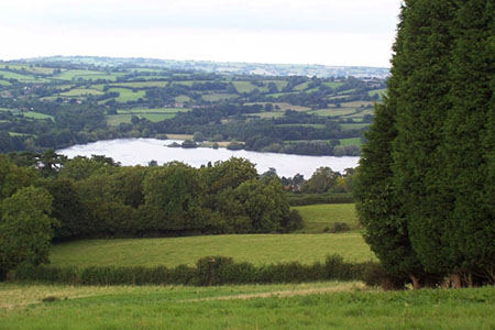 Blagdon Lake from the Mendips