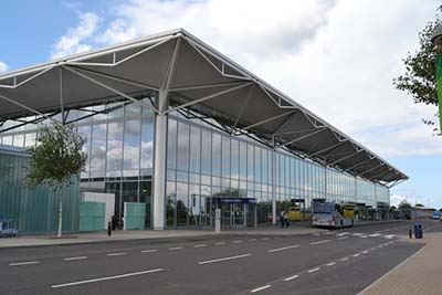 Terminal Building at Bristol Airport