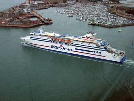 Brittany Ferry, Portsmouth