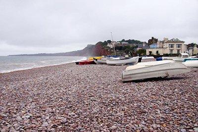"Pebble Beach, Budleigh Salterton"" hspace="