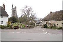 Church and Square Cattistock