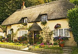 "Cottage at West Lulworth"" hspace="