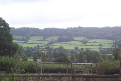 The beautiful countryside around Honiton