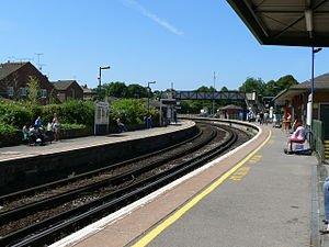 Dorchester South Railway Station