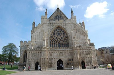 "Exeter Cathedral hspace=""10"