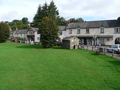 "Exford Village Green"" hspace="