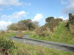 """Granite Way at Prewley, part of the Devon Coast to Coast Cycle Way"""" hspace="""