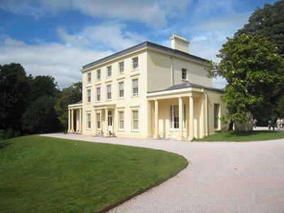 "Greeway, Agatha Christie's home in Torquay"" hspace="