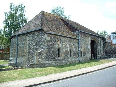 Hyde Abbey Gatehouse Winchester
